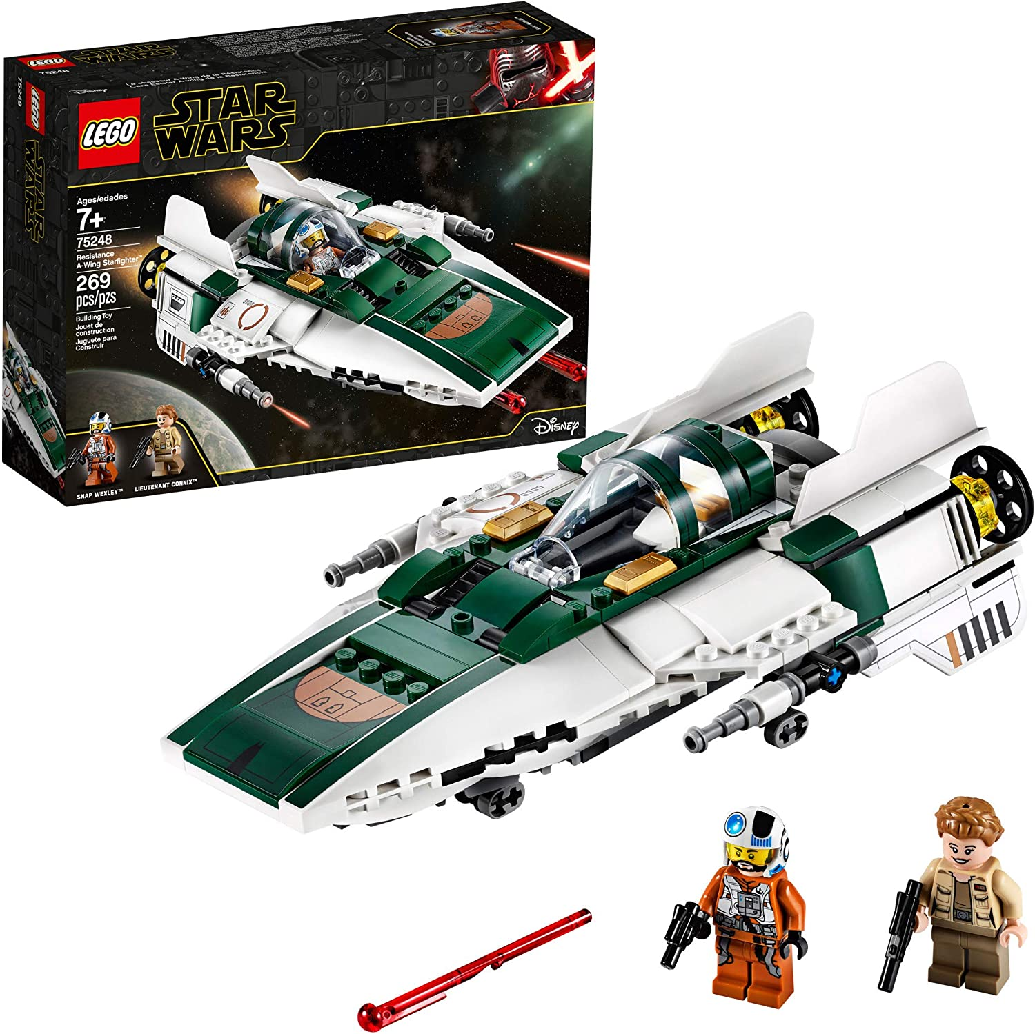 The Rise of Skywalker Resistance A-Wing Starfighter