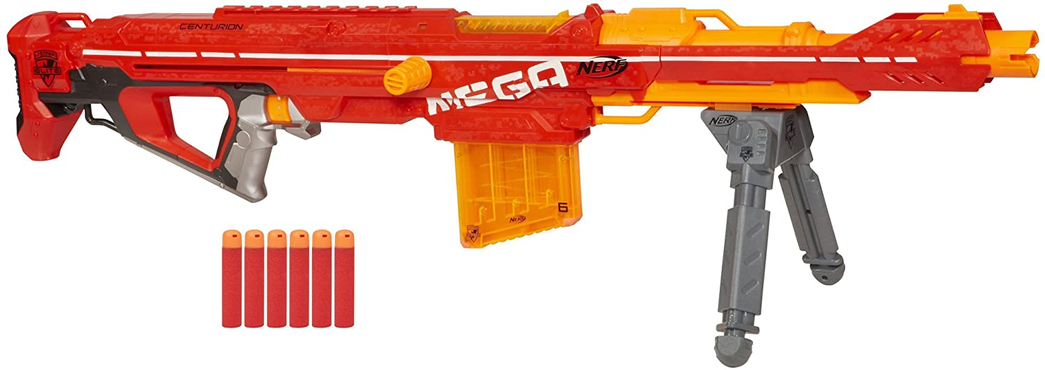 Toy Blaster with Folding Bipod