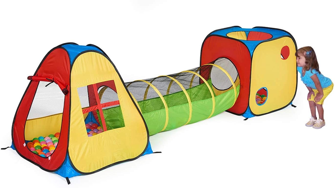 Pop-Up Play Tent with Tunnel