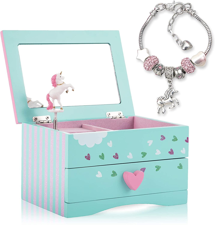 Unicorn Musical Jewelry Box