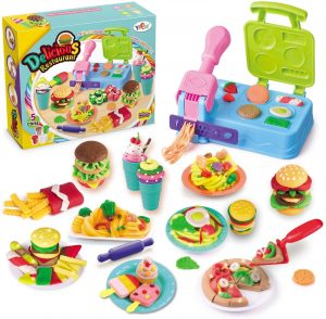 Kitchen Creations Breakfast Burger and Pasta Play Set