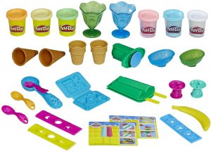 Kitchen Creations Ice Cream Party Play Food Set